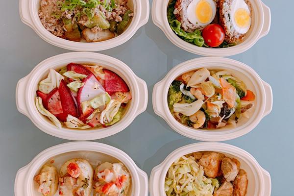 里芋と大根のひき肉餡/スコッチエッグ/ カラフル野菜とキャベツのマリネ 他