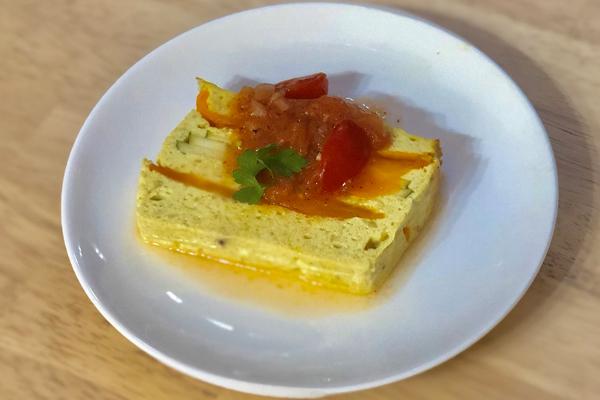【オーブン料理】豆腐のテリーヌ